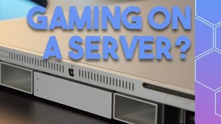 Can you game on a 10 year old Apple Server?