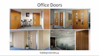 Office Doors, ironmongery, Vision Panels