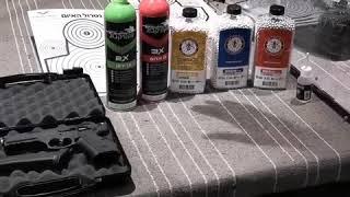 איך לשמור על אקדח גז איירסופט
