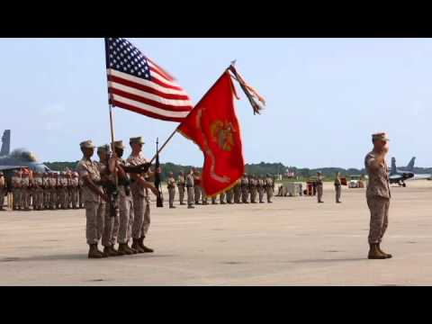 Marine Aircraft Group 31 change of command
