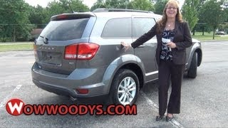 2013 Dodge Journey Review| Video Walkaround| Used trucks and cars for sale at WowWoodys