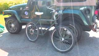 Project RAT BIKE (a Mountain Bike built from Junkyard Parts)  Father & Son