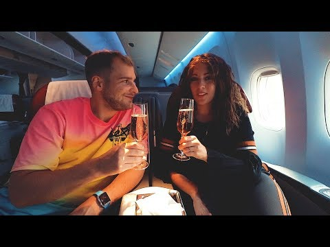 FLYING BUSINESS CLASS FOR THE FIRST TIME [QATAR 777] ❲V ᴸ ᴼ ᴳ 33❳