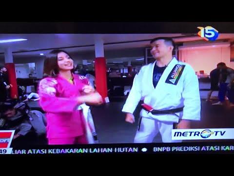 Brazilian Jiu-Jitsu on Sportmagz, Metro TV Jakarta,Indonesia Part 2
