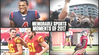 The most memorable sports moments of 2017 | ESPN