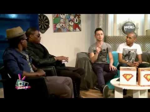 Jessy Matador dans la WebReal TV sur MCE (ITW + Live)