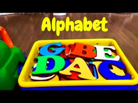 Английский алфавит для детей Азбука для самых маленьких Учим буквы от A до Z