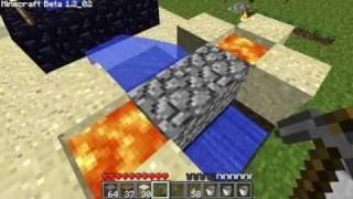 Minecraft: Minimalist Cobblestone Generator 2011-1-24