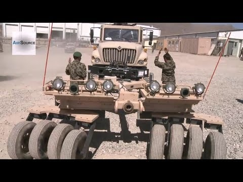 Afghan National Army's Up-armored Mobile Tactical Vehicles (UAMTV)