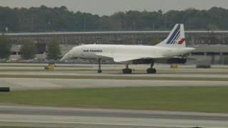 Concorde lands in Atlanta