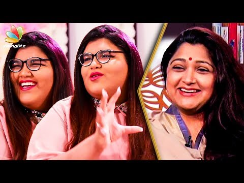 'She Doesn't Like Kushboo Idly' : Anandita Interview About Her Parents   Sundar C   Tamil Cinema