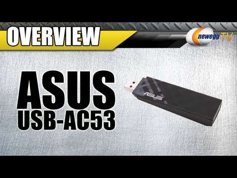 Newegg TV: ASUS USB-AC53 802.11ac Wireless Adapter Interview & Demo