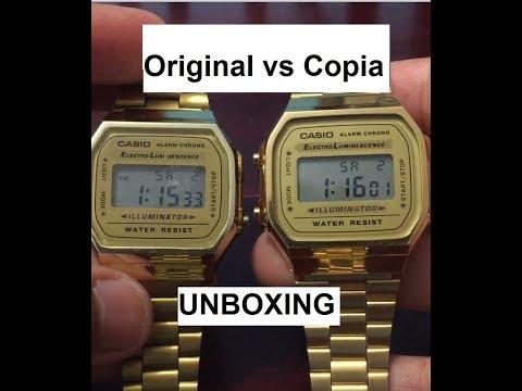 14acd61c904e Comparación ORIGINAL vs Copia! - Reloj Casio Vintage Collection ...