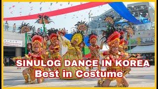 Sinulog Dance in Korea (Sharing Filipino Dance to Koreans ) By Filipino Workers in Korea