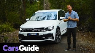 Volkswagen Tiguan 162TSI R-Line 2017 review | first drive video