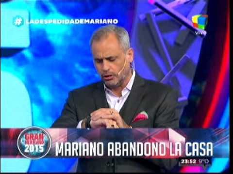 """""""Gran Hermano 2015"""": Mariano abandonó La Casa en medio de un caos y con matafuego incluido"""