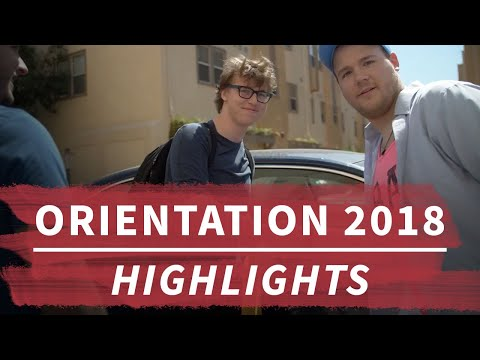 Highlights from Freshman Orientation 2018 | Student Life