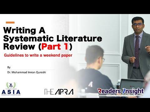 literature review online