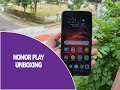 Honor Play Unboxing, Hands on, Camera Samples and Software