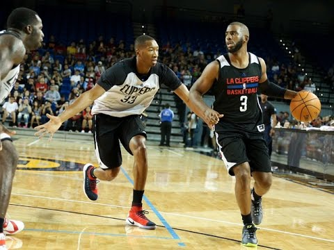 Chris Paul Los Angeles Clippers Scrimmage Highlights. HoopJab NBA.