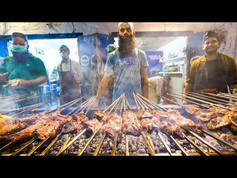 Pakistan Meat Paradise - NALLI NIHARI + TIKKA in Gujranwala | Pakistani Street Food Tour!