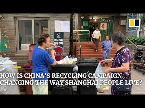 China's recycling campaign and how it's affecting Shanghai residents