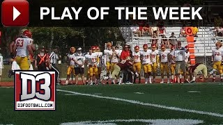 D3football.com Play of the Week: Coe's Tipped Interception