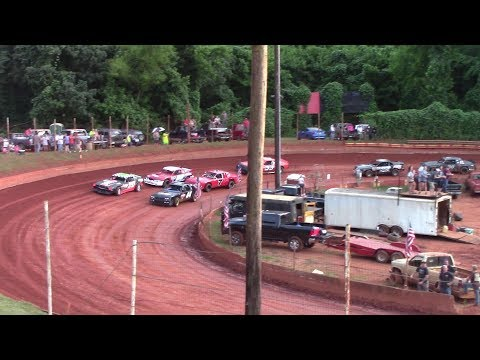 Winder Barrow Speedway Stock Eight Cylinders Feature Race 6/29/19