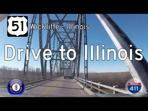 US Highway 51 - Wickliffe - Illinois State Line - Kentucky | Drive America