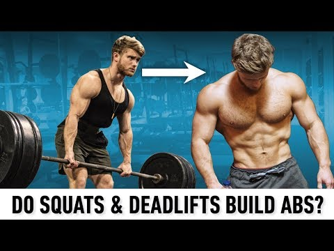 Do Squats And Deadlifts Really Build Abs? (What The Science Says)
