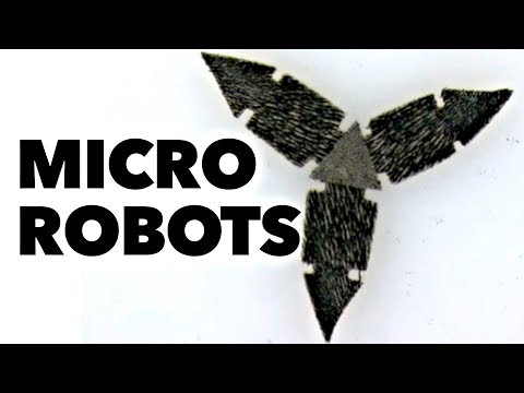 Magnetic Micro-Robots