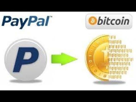 How To Buy Bitcoin With Paypal 2019
