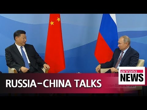 Leaders of Russia, China discuss bilateral ties, expressing their friendshi