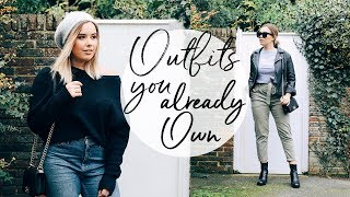 Video OUTFITS YOU PROBABLY ALREADY OWN | RESTYLING LAST SEASON | Hello October download MP3, 3GP, MP4, WEBM, AVI, FLV November 2017