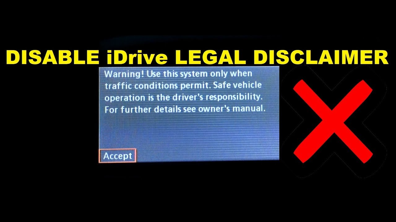 E90 BMW How To Disable CCC iDrive Legal Disclaimer **Coding** NCS Expert