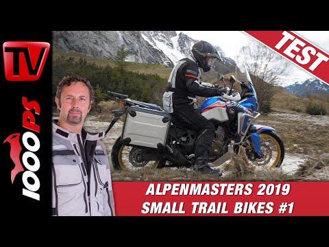 Honda CRF 1000 L AfricaTwin 2019 im Vergleich -  Alpenmasters Enduro Mittelklasse 1/4