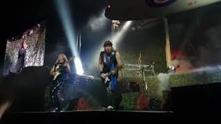 Iron Maiden - Churchill's Speech + Aces High (MULTICAM) Stockholm, Sweden 2018
