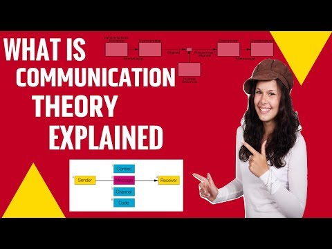 What Is COMMUNICATION THEORY What Does COMMUNICATION THEORY Mean COMMUNICATION THEORY Meaning