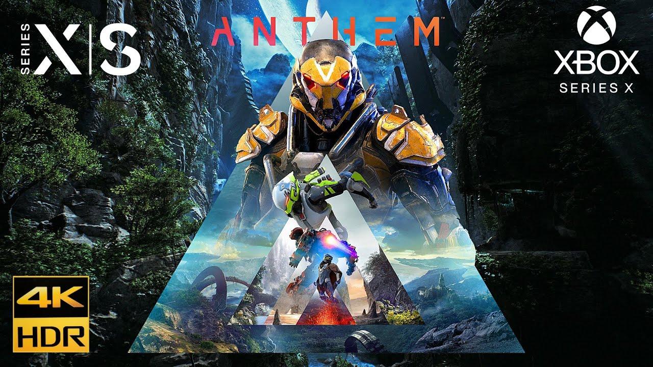 Anthem [Xbox Series X 4K HDR] Gameplay LG Nano Cell SM9010PLA