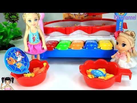 BabyBus - Tiki Mimi và Trò Chơi câu cá và xiếc cá heo vui nhộn dành cho bé