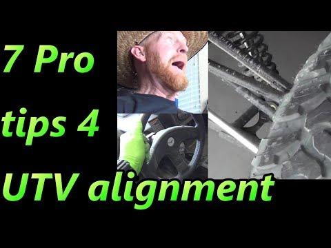 UTV Alignment How to 7 Pro Tips