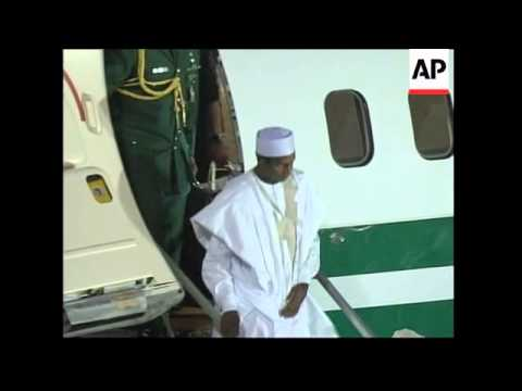 Russian, Nigerian and South African presidents arrive for G8 summit