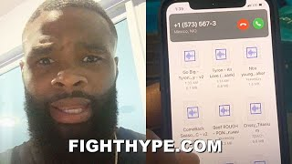 """TYRON WOODLEY EXPOSES JAKE PAUL """"BIATCHES""""; STRIKES BACK AT """"GROUPIE SH*T"""" BLOWING UP HIS LINE"""