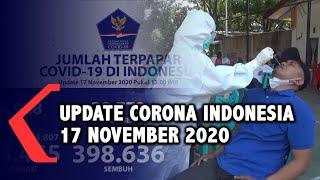 Update Corona 17 November: 474.455 Positif, 398.636 Sembuh, 15.393 Meninggal Dunia