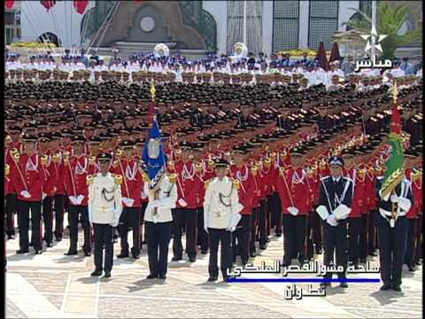 Maroc: serment militaire المغرب: القسم العسكري دفعه 2011