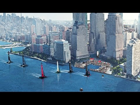 The Louis Vuitton America's Cup New York City Hudson - Super Sunday NYC
