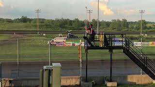 IMCA Sport Mod Feature 7/15/18 Sports Park Raceway Fort Dodge Iowa