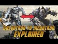 Galvatron to Megatron EXPLAINED in Transformers The Last Knight