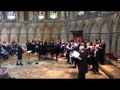 Di Voci Ladies Choir - Listen to the Lambs - Recital at Lincoln Cathedral