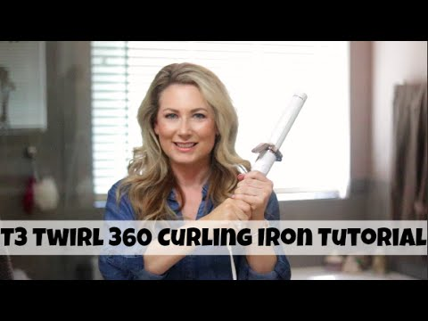 afdcaeab07a8 T3 Twirl 360 Curling Iron Hair Tutorial